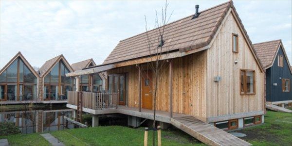 Landal De Reeuwijkse Plassen | 6 pers. waterwoning | Type 6L1 | Reeuwijk, Zuid Holland