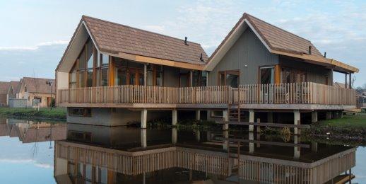 Landal De Reeuwijkse Plassen | 10-pers. waterwoning | Type 10L | Reeuwijk, Zuid-Holland