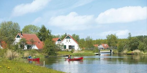 Landal Natuurdorp Suyderoogh | 4-persoonsbungalow | type 4B4 | Lauwersoog, Groningen